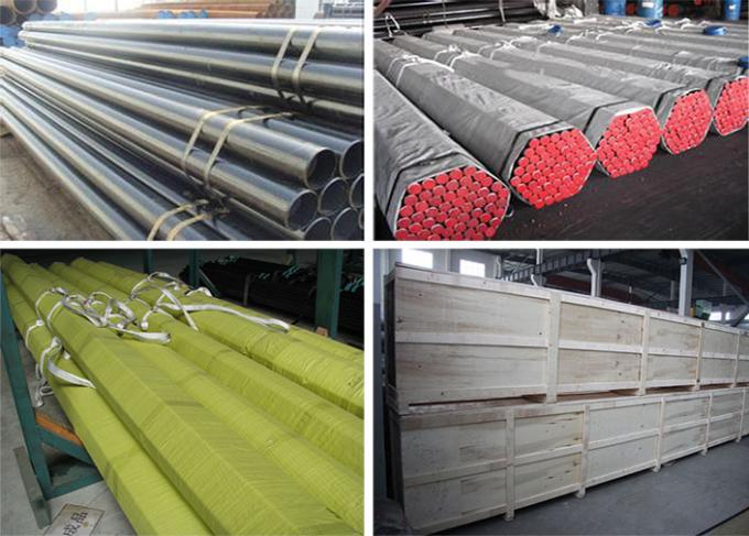 ASTM A519 Stainless Steel Seamless Pipe OD 20 - 200 mm grade1010/1020/1045