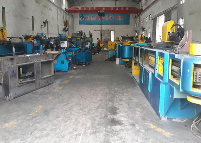Hydraulic High Speed Pipe Shrinking Machine 12 -- 25mm For Alloy Steel Pipes
