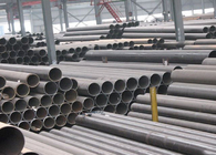 DIN 1629 Aluminum Welded Steel Tube ST37.0 / ST44.0 , Straight Seam Steel Pipe