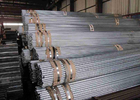 China Galvanized Welded Iron Steel Tube 30 Inch , Thin Wall Steel Tubing company