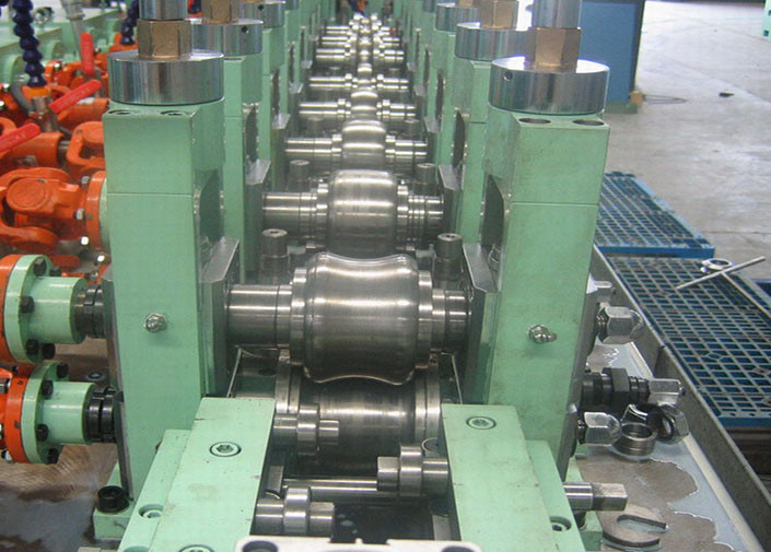 75kw Straight Seam Welded Stainless Steel Tube Mill Vzh 32