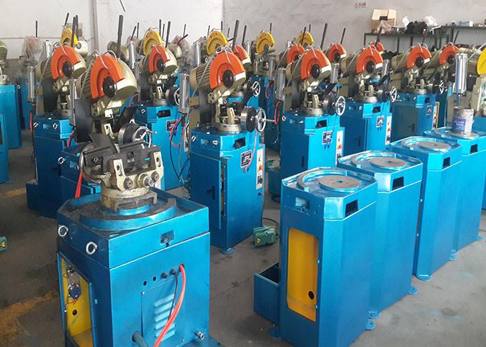 Hydraulic steel metal pipe cutting machine
