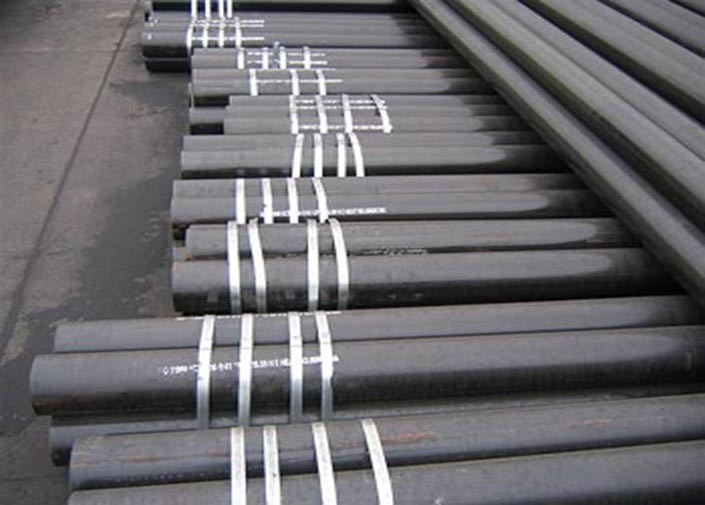 Round Galvanized Seamless Steel Pipe , T9 / T11 Stainless Steel Custome Tubing