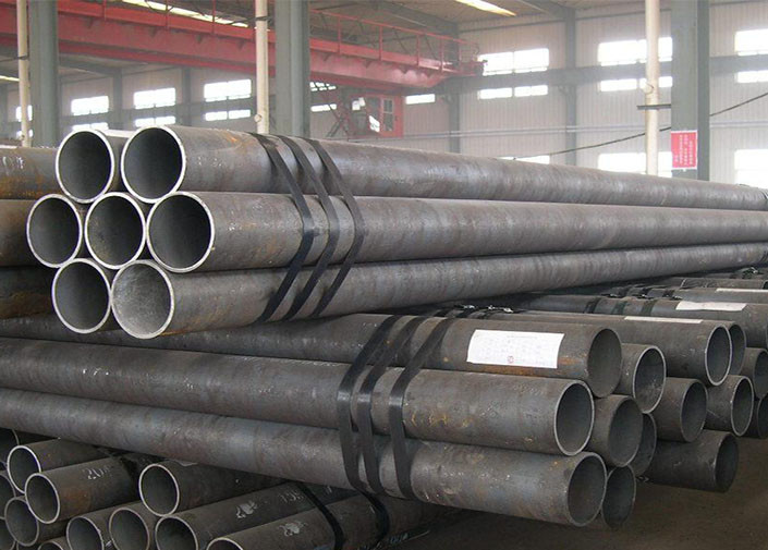 BS 1387 ERW weld carbon Welded Steel Tube , round weld pipe for water supply
