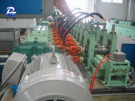 Carbon Steel Welded Tube Mill , Seamless Stainless Steel  Pipe Production Line
