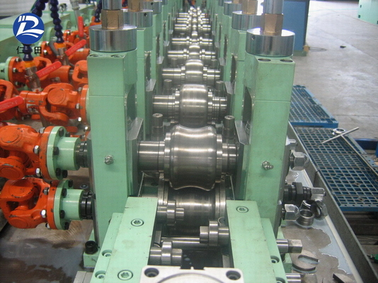 Carbon Ssteel Welded Tube Mill Machinery 8mm , Round Seamless Pipe Production