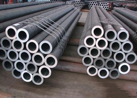 China GB/T 1591-2008 GB709 Alloy Black Seamless Steel Pipe 0.1mm - 20mm For Industry factory