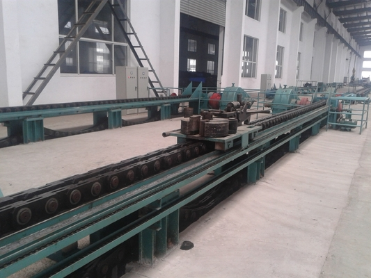 Hydraulic Cold Drawbench Stainless Steel Seamless Pipe Machine 12m With 11.9m/Min